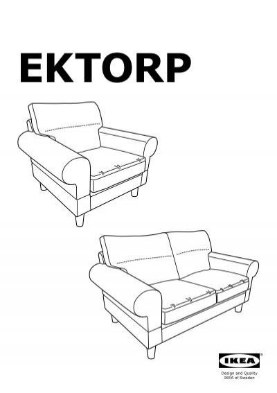Divano Ektorp Ikea 2 Posti.Ikea Ektorp Divano A 2 Posti S09875803 Istruzioni Di Montaggio