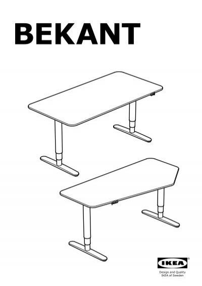 Bekant Scrivania Ikea.Bekant Magazines