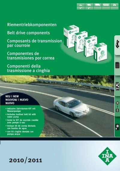 1 Spannarm crantées INA 534 0239 10 BMW