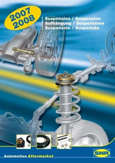 Sachs 900 203 Suspensi/ón de Ruedas