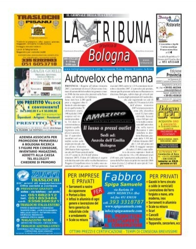 Dondi Salotti Outlet Savignano.Fax 051 6049552 Www Traslocobologna Com E Mail La Tribuna
