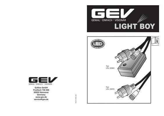 GEV 20863 Blinklicht-Regler LRL