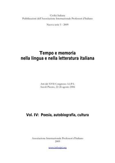 Atti Del Convegno Di Ascoli Piceno 2006 Aipi