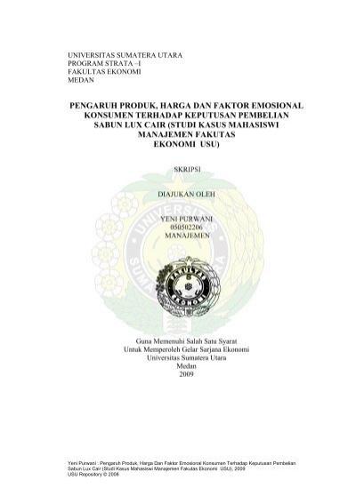 Universitas Sumatera Utara Usu Institutional Repository