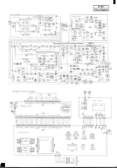 yaesu ft 817 circuit diagram iw2nmx. Black Bedroom Furniture Sets. Home Design Ideas