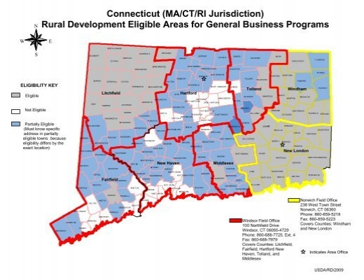 Connecticut ma ct ri jurisdiction usda rural development for Usda rural development louisiana