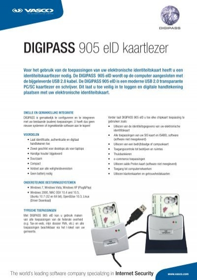 Download Driver Digipass 905 Windows 7