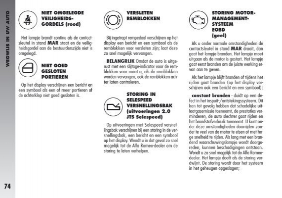Storing Airbagsysteem