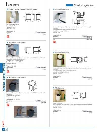 Gamma Keuken Installeren : KEUKEN Losse afvalemmers