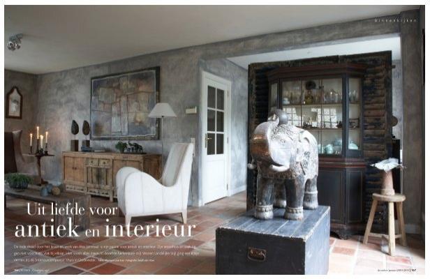 Uit liefde voor alex janmaat antiek interieur for Antiek interieur