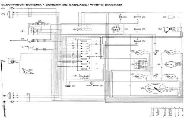 electrisch schema    schem