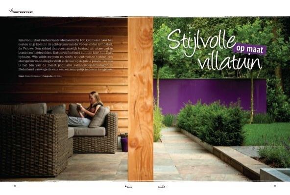 Fence stijlvolle villatuin op maat buytengewoon