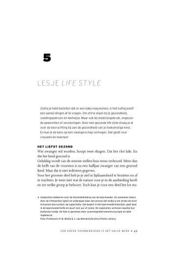 Wonderlijk LESJE LIFE STYLE (pdf, 117 Kb) - Zwanger worden DK-52