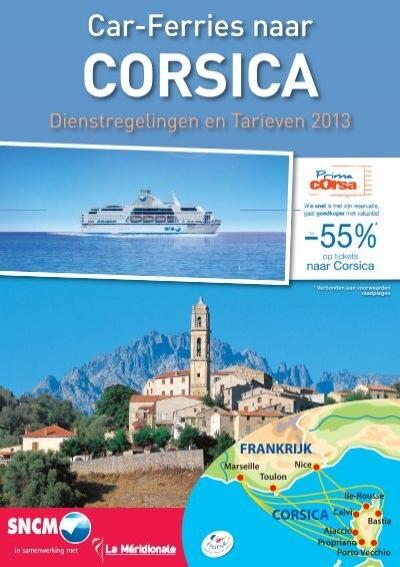 uurregeling en tarieven 2013 naar corsica ferry4you. Black Bedroom Furniture Sets. Home Design Ideas