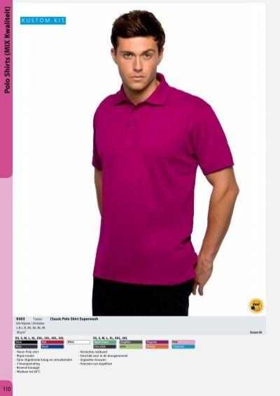 Homme Slim Rouge Blanc Contraste Polo Shirt KK613 Kustom Kit XS L XL XXL Neuf
