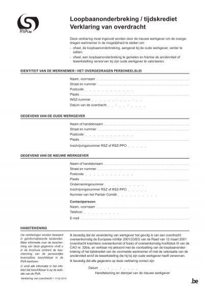 verklaring uitsluitend zakelijk gebruik bestelauto pdf