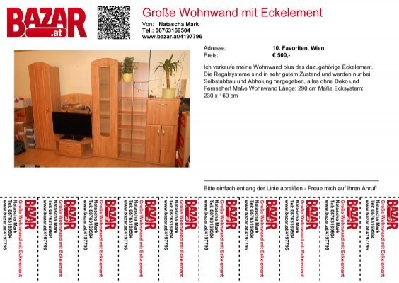 gro e wohnwand mit eckelement. Black Bedroom Furniture Sets. Home Design Ideas