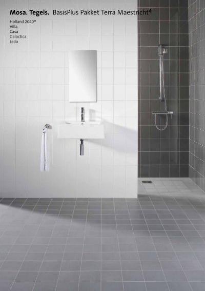 Mosa keuzepakket tegels badkamer en toilet - Vidomes