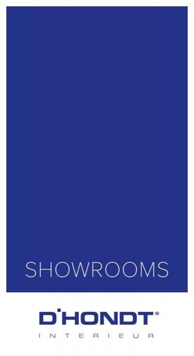D 39 hondt showrooms for Dhondt interieur brugge openingsuren