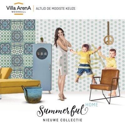 Bankstellen Villa Arena.Villa Arena Summerful Home Magazine Zomer