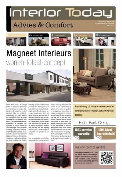 Interior Today, uitgave Magneet Interieurs - MMI Shopconcepts retail