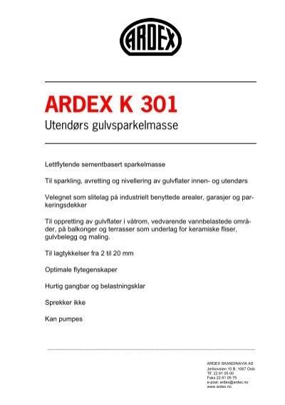 ardex k 301