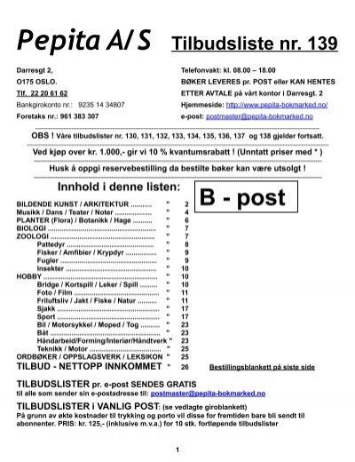 56e32bfc Tilbudsliste 139 - Pepita bokmarked