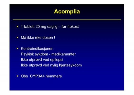 Acomplia 1 tablett 20 mg
