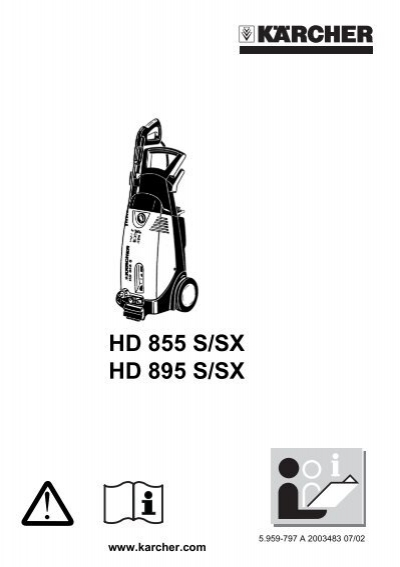 Karcher hds 895 owner Manual