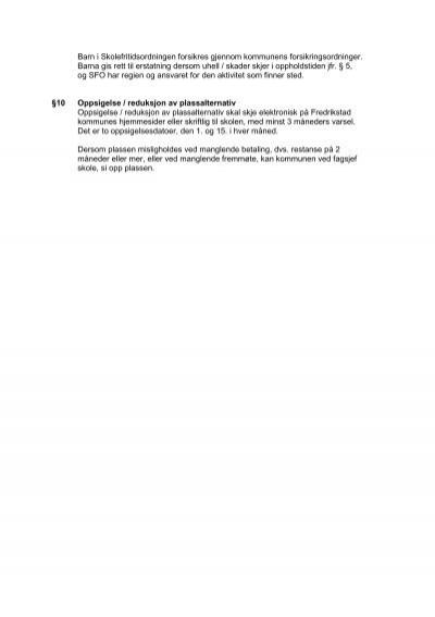 oppsigelse av abonnement Fredrikstad