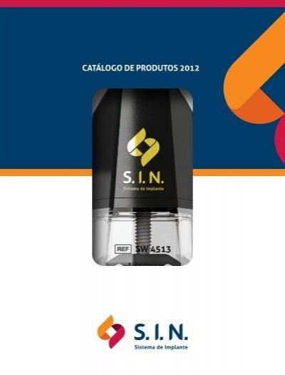 Catálogo de Produtos 2012