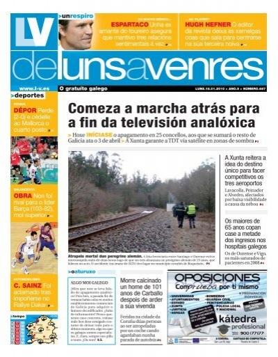 Comeza A Marcha Atras Para A Fin Da Television Analoxica Galiciae