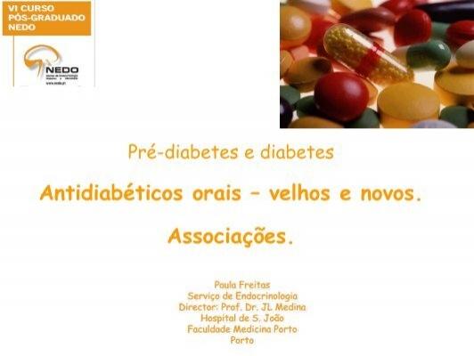 Antidiabéticos orais - NEDO