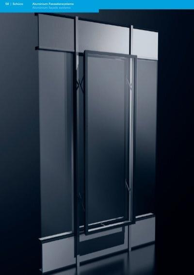 aluminium fassadensysteme aluminium fa ade systems sch co. Black Bedroom Furniture Sets. Home Design Ideas