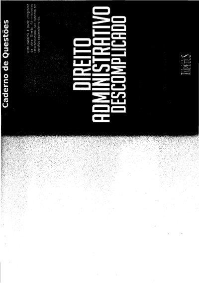 Direito constitucional caderno pdf questoes de descomplicado
