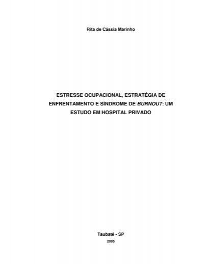 Estresse ocupacional estudo de casos na área bancária 10