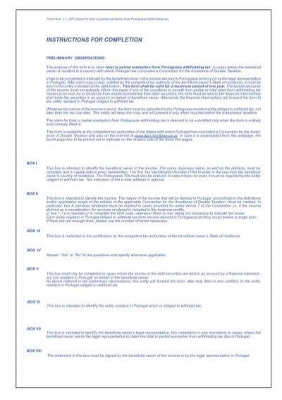 mod 21 rfi instructions