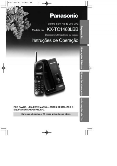 kx tc1468lbb pdf panasonic rh yumpu com
