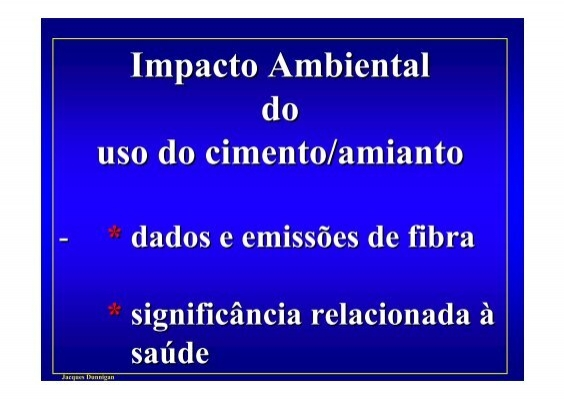 Impacto ambiental do tabagismo