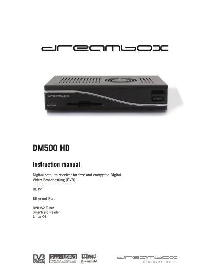 dm500 manual