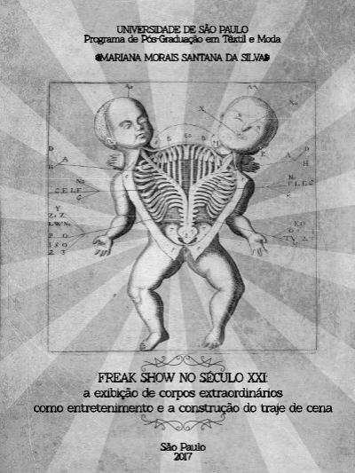 Freak Show No Século Xxi Mariana Morais