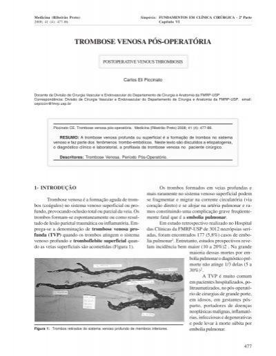 Venosa séptica de cerebral trombose tratamento
