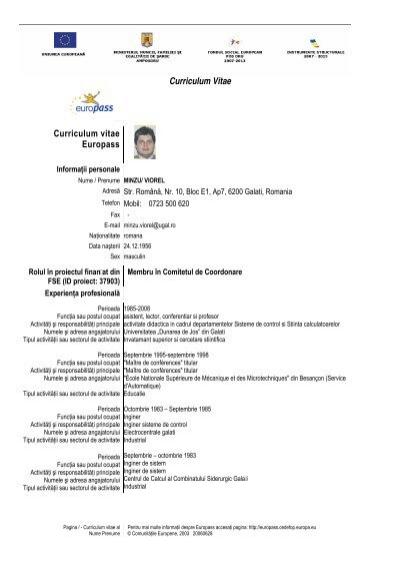 anexa 9  formular cv  u00e2 formular electronic