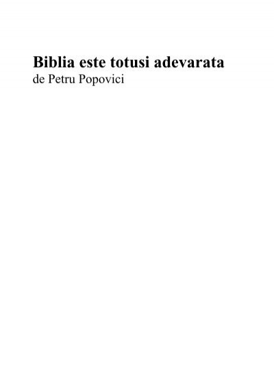 ajutor biblic pentru a pierde în greutate