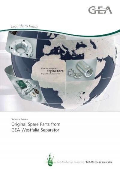 original spare parts from gea westfalia separator pdf 174 7 kb