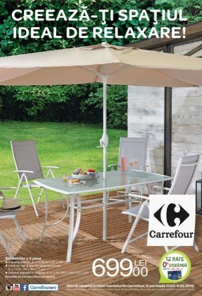 Mobilier Gradina Carrefour 2020