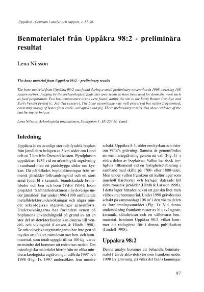 Uppkra - Lund University Publications - Lunds universitet