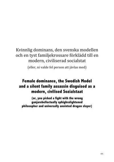 Kvinnlig Dominans
