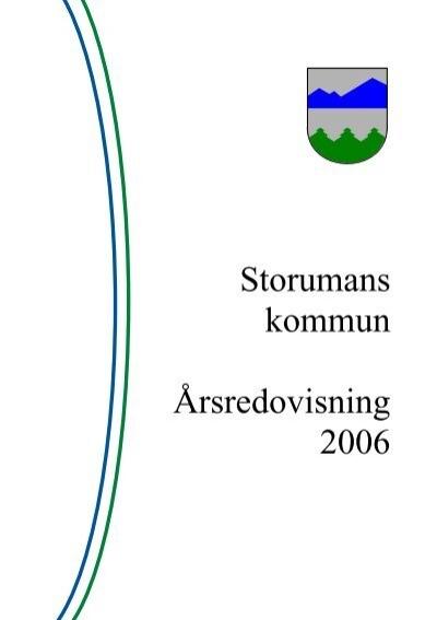 Kvalitetsrapport - Storumans kommun