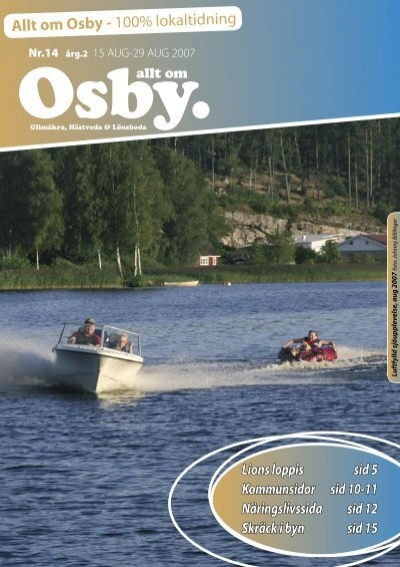 Trafikolycka, singel i Osby den 26 sep. 2018 vid 15-tiden